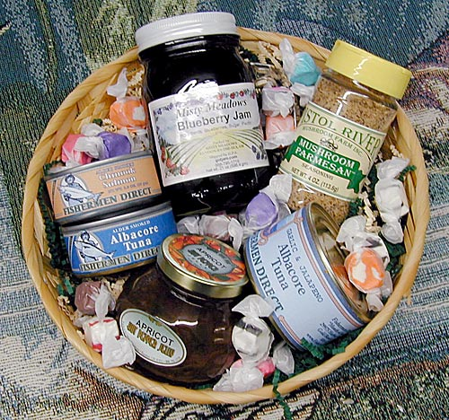 Fish Jamming Season Basket