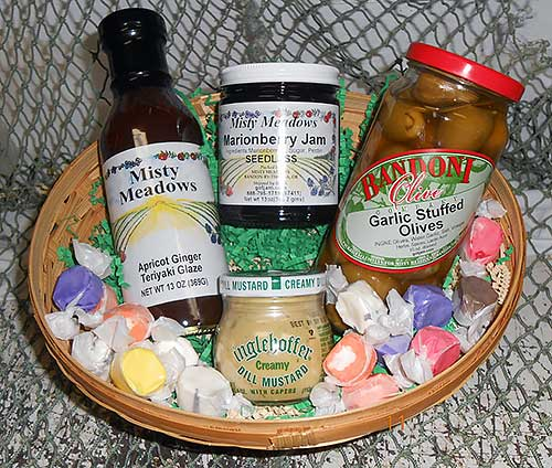 Taste of Oregon Basket by Fishermen Direct